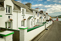 Street in Knightstown,Valentia Island,Republic of Ireland