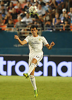 07.08.2013.Miami, Florida, USA.  Alvaro Arbeloa (17)  during the second half of the  the final of the Guinness International Champions Cup between Real madrid and Chelsea. The game was won by a score of 3-1 by Real Madrid with Ronaldo scoring a brace.
