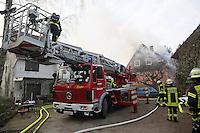 Hausbrand in der Wallerstädter Hintergasse