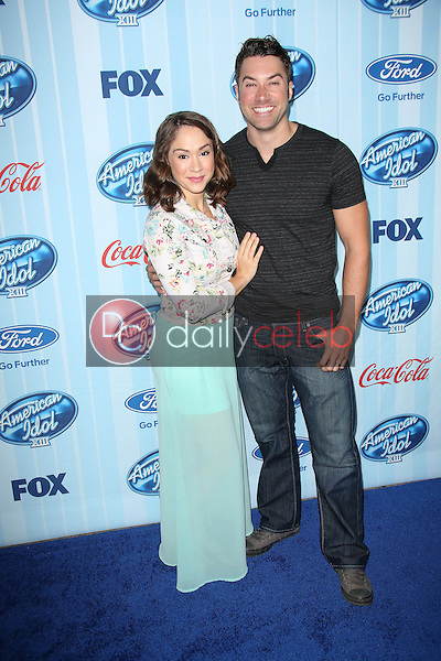 Diana DeGarmo, Ace Young<br /> at the &quot;American Idol&quot; XIII Season Premiere Event, UCLA, Westwood, CA 01-14-14<br /> David Edwards/DailyCeleb.com 818-249-4998