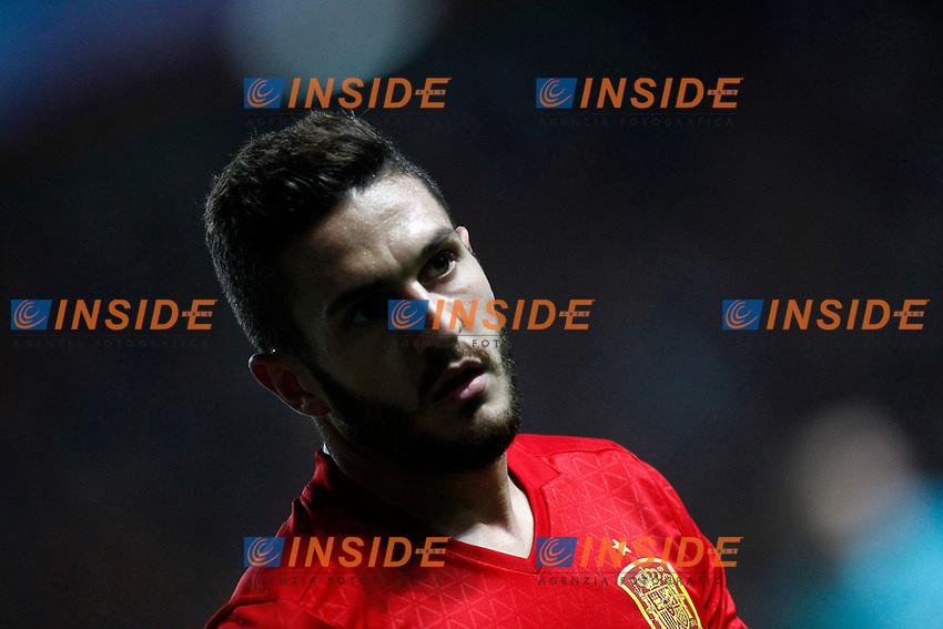 Spain's Koke Resurreccion during FIFA World Cup 2018 Qualifying Round match. <br /> Gijon 24-03-2017 Stadio El Molinon <br /> Qualificazioni Mondiali <br /> Spagna - Israele <br /> Foto Acero/Alterphotos/Insidefoto <br /> ITALY ONLY