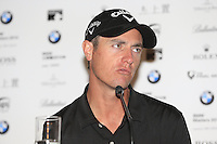 Nicolas Colsaerts (BEL) holds the overnight lead with -14 at the end of Friday's Round 2 of the 2014 BMW Masters held at Lake Malaren, Shanghai, China 31st October 2014.<br /> Picture: Eoin Clarke www.golffile.ie