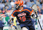 April 27, 2012:  University of Virginia's, Chris Bocklet (10), in action during the Whitman's Sampler Mile High Classic, Sports Authority Field at Mile High, Denver, CO.  #6 Virginia defeats Penn State 10-8.