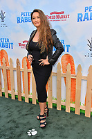 Tia Carrere at the world premiere for &quot;Peter Rabbit&quot; at The Grove, Los Angeles, USA 03 Feb. 2018<br /> Picture: Paul Smith/Featureflash/SilverHub 0208 004 5359 sales@silverhubmedia.com