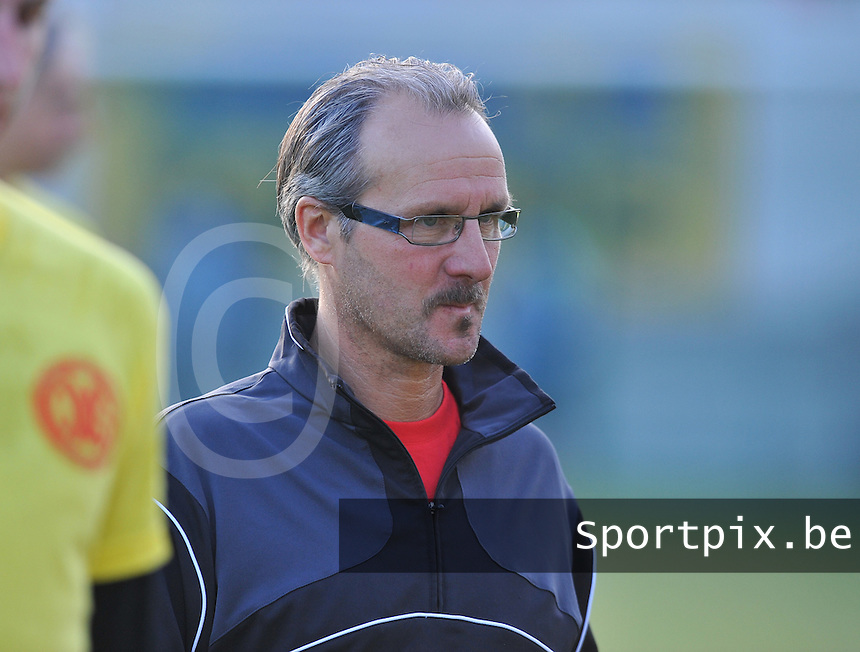 OMS Ingelmunster : coach Joost Malfait.foto VDB / BART VANDENBROUCKE