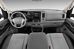 Nissan Cargo Van NV 2500 High Roof V8 S 2013 Straight Dashboard View Stock Photo