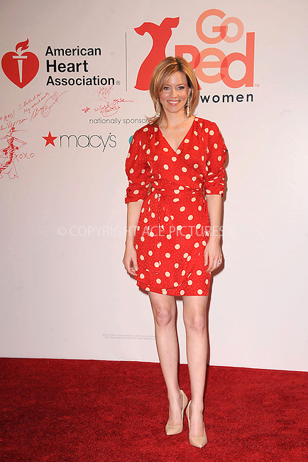 WWW.ACEPIXS.COM . . . . . .February 03, 2012...New York City.... Actress Elizabeth Banks attends AHA's Go Red For Women National Wear Red Day at Macy's Herald Square on February 03, 2012 in New York City ....Please byline: KRISTIN CALLAHAN - ACEPIXS.COM.. . . . . . ..Ace Pictures, Inc: ..tel: (212) 243 8787 or (646) 769 0430..e-mail: info@acepixs.com..web: http://www.acepixs.com .