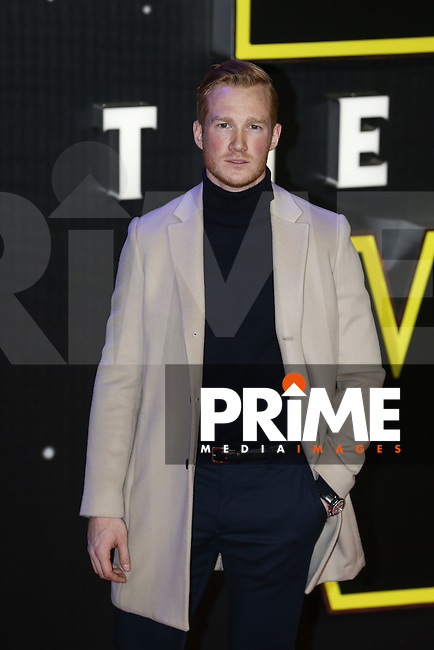 Greg Rutherford attends the STAR WARS: 'The Force Awakens' EUROPEAN PREMIERE at Odeon, Empire & Vue Cinemas, Leicester Square, England on 16 December 2015. Photo by David Horn / PRiME Media Images
