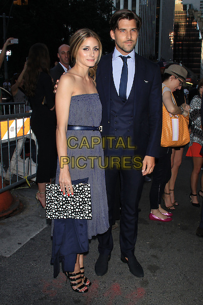 NEW YORK, NY - JULY 17: Olivia Palermo and Johannes Huebl at the New York Premiere of &quot;Magic in the Moonlight&quot; at the Paris Theatre on July 17, 2014 in NEW YORK CITY<br /> CAP/LNC/TOM<br /> &copy;TOM/LNC/Capital Pictures