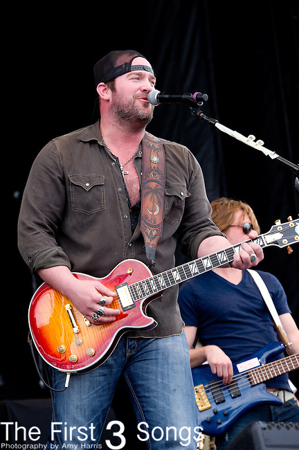Lee Brice performs at the ACM Party for a Cause Festival during The ACM Experience at The Orleans Hotel & Casino on April 6, 2013.