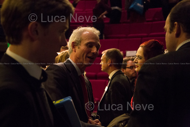 (In the Middle) David Lidington. <br />