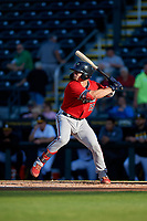 Fort Myers Miracle Ben Rortvedt (15) during a Florida State League game against the Bradenton Marauders on April 23, 2019 at LECOM Park in Bradenton, Florida.  Fort Myers defeated Bradenton 2-1.  (Mike Janes/Four Seam Images)