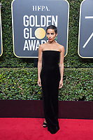 Zo&euml; Kravitz arrives at the 75th Annual Golden Globe Awards at the Beverly Hilton in Beverly Hills, CA on Sunday, January 7, 2018.<br /> *Editorial Use Only*<br /> CAP/PLF/HFPA<br /> &copy;HFPA/PLF/Capital Pictures