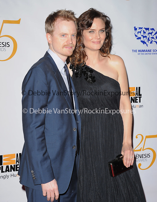 Emily Deschanel at The Humane Society of The United States celebration of The 25th Anniversary Genesis Awards in Beverly Hills, California on March 19,2011                                                                               © 2010 Hollywood Press Agency