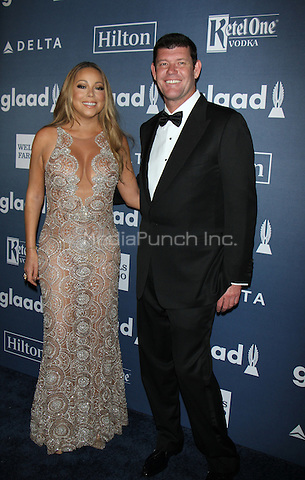 NEW YORK, NY-May 14: Mariah Carey, James Packer at 27th Annual GLAAD Media Awards at The Waldorf=Astoria in New York. NY May 14, 2016. Credit:RW/MediaPunch