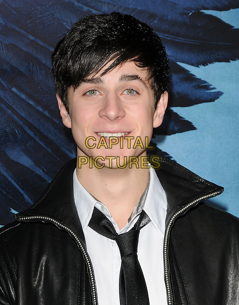 "DAVID HENRIE.World Premiere of ""Legion"" held at The Arclight Cinerama Dome in Hollywood, California, USA..January 21st, 2010.headshot portrait black white .CAP/RKE/DVS.©DVS/RockinExposures/Capital Pictures."