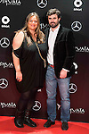 Two guest attends to the party organized by Mercedes - Benz and Ushuaia Ibiza to the presentation of new Smart Fortwo Ushuaia Limited Edition 2016 at the Palacio de Cibeles in Madrid. March 10, 2016. (ALTERPHOTOS/BorjaB.Hojas)
