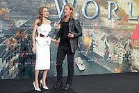Berlin, Dienstag (04.06.13), Die Schauspieler Brad Pitt und Angelina Jolie bei der Deutschlandpremiere des Films World War Z.<br /> Foto: Michael Gottschalk/CommonLens