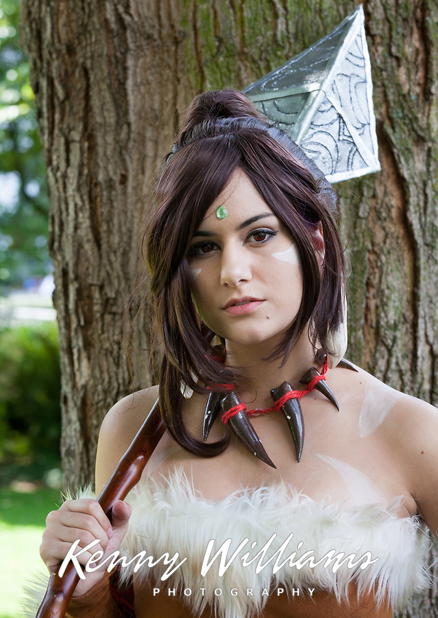 Nidalee Cosplay, Pax Prime 2015, Seattle, Washington State, WA, America, USA.