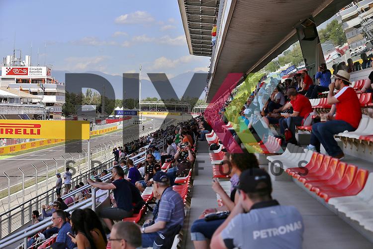 Barcelona, 10.05.15, Motorsport, GP Spanien 2015 :<br /> <br /> Foto &copy; P-I-X.org *** Foto ist honorarpflichtig! *** Auf Anfrage in hoeherer Qualitaet/Aufloesung. Belegexemplar erbeten. Veroeffentlichung ausschliesslich fuer journalistisch-publizistische Zwecke. For editorial use only.