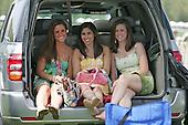 Girls having fun, Queens Cup, Mineral Springs, NC.
