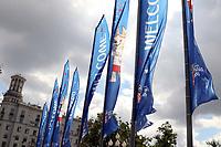 MOSCOU, RUSSIA, 13.06.2018: COPA-RUSSIA - Movimentação de torcedores próximo a Praça Vermelha para a Copa do Mundo da FIFA Rússia 2018, nesta quarta-feira (13). (Foto: Fernando Calzzani/Photopress/Código19)
