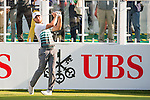 Jordan L. Smith of England tees off the first hole during the 58th UBS Hong Kong Golf Open as part of the European Tour on 10 December 2016, at the Hong Kong Golf Club, Fanling, Hong Kong, China. Photo by Marcio Rodrigo Machado / Power Sport Images