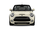 Car photography straight front view of a 2019 Mini Cooper Cooper S Chili 2 Door Convertible