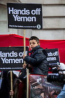 "11.04.2015 - ""Hands Off Yemen"" - Demo at Saudi Arabia Embassy"
