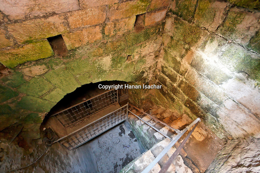 Israel, Jerusalem, The Pool of Bethesda, the Roman cistern<br />