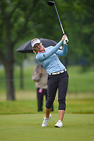 Brooke M. Henderson (CAN) watches her tee shot on 12 during round 4 of the KPMG Women's PGA Championship, Hazeltine National, Chaska, Minnesota, USA. 6/23/2019.<br /> Picture: Golffile | Ken Murray<br /> <br /> <br /> All photo usage must carry mandatory copyright credit (© Golffile | Ken Murray)