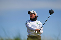 Paula Grant (Lisburn) during the final round at the Irish Woman's Open Stroke Play Championship, Co. Louth Golf Club, Louth, Ireland. 12/05/2019.<br /> Picture Fran Caffrey / Golffile.ie<br /> <br /> All photo usage must carry mandatory copyright credit (&copy; Golffile | Fran Caffrey)
