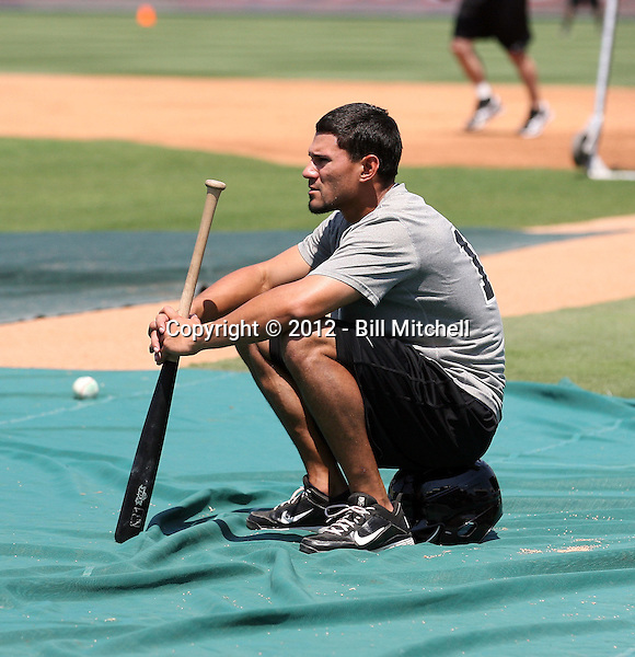 Reymond Fuentes - 2012 San Antonio Missions (Bill Mitchell)
