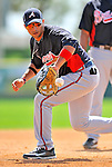 4 March 2011: Atlanta Braves infielder Martin Prado warms up prior to a Spring Training game against the Washington Nationals at Space Coast Stadium in Viera, Florida. The Braves defeated the Nationals 6-4 in Grapefruit League action. Mandatory Credit: Ed Wolfstein Photo