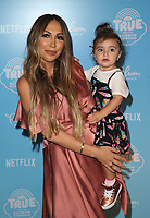 LOS ANGELES, CA - AUGUST 10: Diana Madison, Violet Madison Nash, at the Netflix Series Premiere Of True And The Rainbow Kingdom at the Pacific Theatres at The Grove in Los Angeles, California on August 10, 2017. Credit: Faye Sadou/MediaPunch