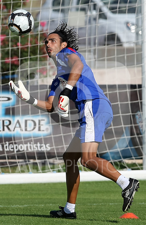 Getafe's Jordi Codina during training sesion.August 6 2009. (ALTERPHOTOS/Acero).