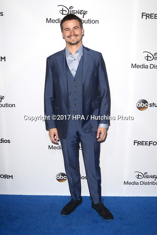 LOS ANGELES - MAY 21:  Jason Ritter at the 2017 ABC/Disney Media Distribution International Upfront at the Walt Disney Studios on May 21, 2017 in Burbank, CA