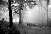 Kalwaria, Poland.August 1989.Religious pilgrimage