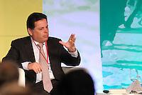 "SAO PAULO, SP, 24.10.2013 - FORUM THE ECONOMIST - BRAZIL SUMMIT - Marconi Perillo,Governor de Goias durante o Forum Brazil Summit ""News Drivers of Economic Growth"" realizado pela revista The Economist na regiao sul da cidade de Sao Paulo nesta quinta-feira, 24. (Foto: Vanessa Carvalho / Brazil Photo Press)"