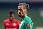 Enttaeuschung nach der Niederlage <br /> Theodor Gebre Selassie (Werder Bremen #23)<br /> <br /> Sport: Fussball: 1. Bundesliga: Saison 19/20: <br /> 26. Spieltag: SV Werder Bremen vs Bayer 04 Leverkusen, 18.05.2020<br /> <br /> Foto ©  gumzmedia / Nordphoto / Andreas Gumz / POOL <br /> <br /> Nur für journalistische Zwecke! Only for editorial use!<br />  DFL regulations prohibit any use of photographs as image sequences and/or quasi-video.
