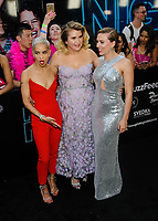 "12 May 2017 - New York, New York - Zoe Kravitz, Jillian Bell, Scarlett Johansson. ""Rough Night"" NYC Premiere at AMC Loews Lincoln Square. Photo Credit: Mario Santoro/AdMedia"