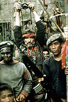 Apocalypse Now (1979) <br /> Dennis Hopper<br /> *Filmstill - Editorial Use Only*<br /> CAP/KFS<br /> Image supplied by Capital Pictures