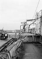 Scheepswerf Beliard Murdoch in Antwerpen.  Januari 1965.