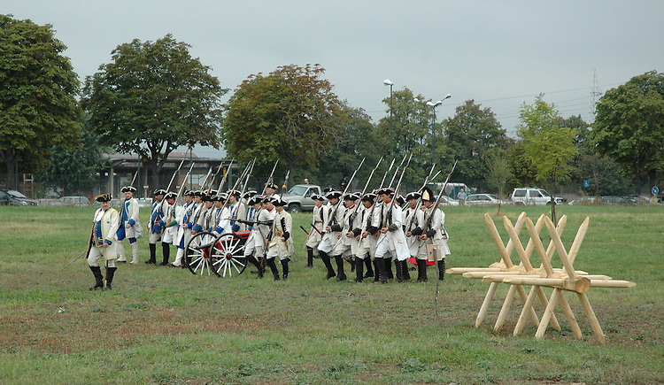9 settembre 2006 - Cascina Continassa a Torino - Rievocazione storica dell'assedio di Torino del 1706.