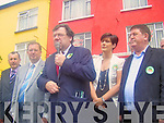 VISIT: Taoiseach Brian Cowen took his campaign on the Lisbon Treaty to Kerry last weekend. .