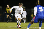 25 October 2013: Wake Forest's Andy Lubahn (17). The Duke University Blue Devils hosted the Wake Forest University Demon Deacons at Koskinen Stadium in Durham, NC in a 2013 NCAA Division I Men's Soccer match. The game ended in a 2-2 tie after two overtimes.