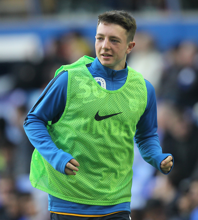 Preston North End's Jack Baxter<br /> <br /> Photographer Mick Walker/CameraSport<br /> <br /> The EFL Sky Bet Championship - Birmingham City v Preston North End - Saturday 1st December 2018 - St Andrew's - Birmingham<br /> <br /> World Copyright &copy; 2018 CameraSport. All rights reserved. 43 Linden Ave. Countesthorpe. Leicester. England. LE8 5PG - Tel: +44 (0) 116 277 4147 - admin@camerasport.com - www.camerasport.com