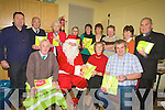 EARLY: Santa came early for the senior citizens of Curaheen, Derrymore, Blennerville on Sunday as Santa presented Visibal Jackets on behalf of 24/7 Taxis who sponsored the jackets to them on Sunday at the Curraheen Centre the back of St Brendan's Church, Curraheen. Front l-r: Donal Kelliher, Santa, Kathleen Browne and Terry Boyle (24/7 Taxi). Back l-r: Garda Dave Rath (Community Garda), Jim Murphy, Patsy Quirke, Kay Murphy, Maureen O'Halloran, Debbie O'Connor, Pat O'Shea (chairman of Curraheen Community), Joan Trant and Fr Michael O'Leary...