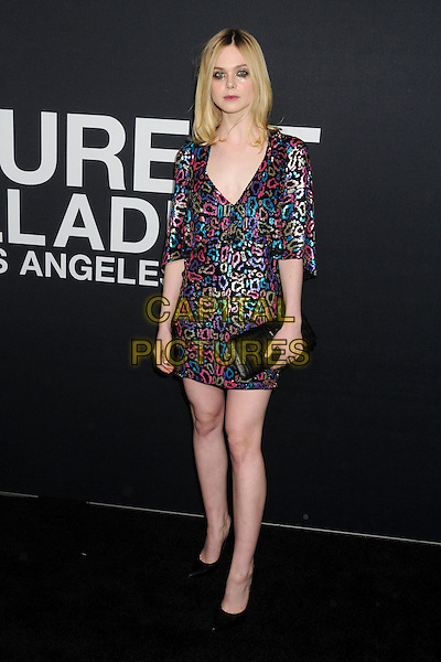 10 February 2016 - Los Angeles, California - Elle Fanning. Saint Laurent At The Palladium held at the Hollywood Palladium. <br /> CAP/ADM/BP<br /> &copy;BP/ADM/Capital Pictures