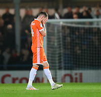 Blackpool's Harry Pritchard at the end of the game<br /> <br /> Photographer Chris Vaughan/CameraSport<br /> <br /> The EFL Sky Bet League One - Rochdale v Blackpool - Wednesday 26th December 2018 - Spotland Stadium - Rochdale<br /> <br /> World Copyright &copy; 2018 CameraSport. All rights reserved. 43 Linden Ave. Countesthorpe. Leicester. England. LE8 5PG - Tel: +44 (0) 116 277 4147 - admin@camerasport.com - www.camerasport.com